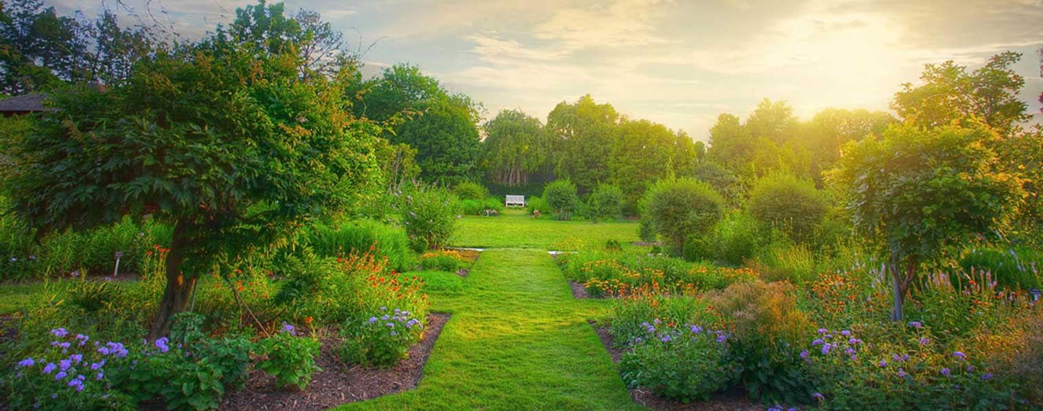 Nuestros jardines demuestran <br /> la calidad de nuestro trabajo
